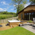 Ash view Luxury hot tub holiday accommodation in Wales