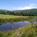 Mid Wales scenery, Nantmel near the Elan Valley