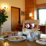 Welsh Tea at Lon Lodges self catering cottage holidays