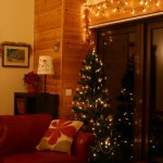 Christmas Decorations at Lon Lodges self catering cottage holidays