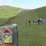 Activities in Wales - Walking across the top of the Upland Hill
