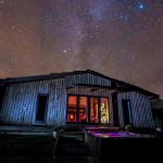 Starry sky watching at Lon Lodges, Nantmel near the Elan Valley