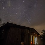 Starry skies at Lon Lodges self catering cottage holidays