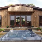 Luxury Wales lodges complete with hot tubs