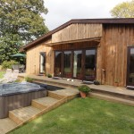 Lon Lodges Cottages In Wales With Hot Tubs