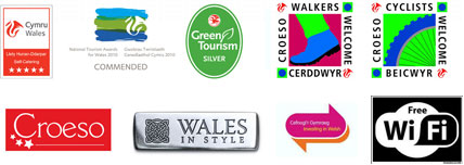 welsh tourism award logos