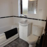 bathroom and shower room - 5 star self catering accommodation, Powys, Mid Wales