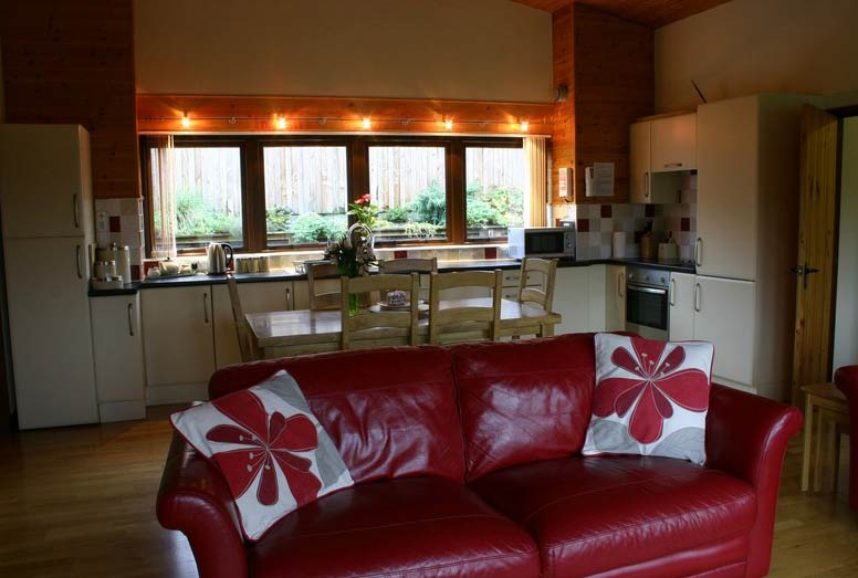 lon lodges kitchen