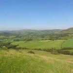 upland walk - Lon Lodges Farm Walks & Nature Trails, Powys, Mid Wales