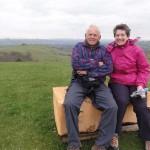 walkers - Lon Lodges Farm Walks & Nature Trails, Powys, Mid Wales