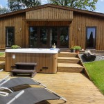 Ash Lodge Ash view Luxury hot tub holidays in Wales