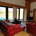 Ash Living Area - 5 star self catering accommodation, Powys, Mid Wales
