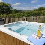 Ash view Luxury hot tub holiday accommodation in Mid Wales