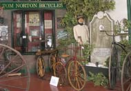 Places to visit in Mid Wales -National Cycle Museum