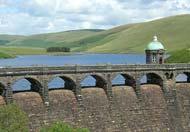 elan valley dam, Rhayader, Powys, Mid Wales