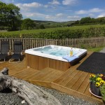Luxury hot tub holiday accommodation in Wales