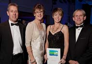 green tourism award for Lon Lodges, Nantmel near the Elan Valley