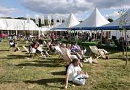 hay festival, Powys, Mid Wales