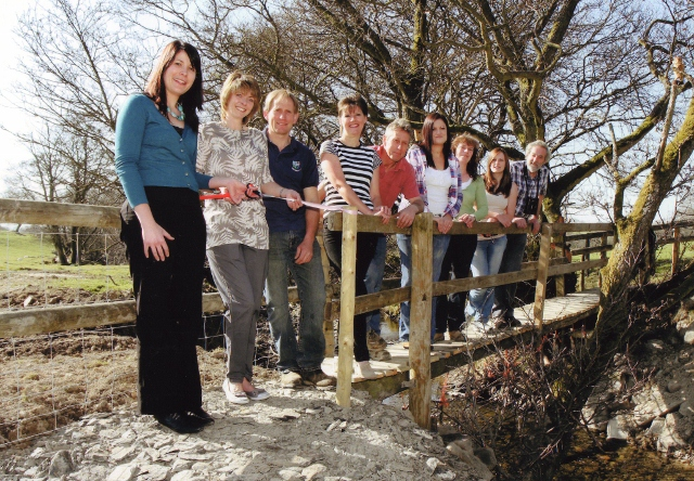 Lon Lodges Launch Day for the Farm Walks and Nature Trails