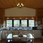 Kitchen and Dining area - 5 star self catering accommodation, Powys, Mid Wales