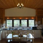 Luxury Lodges Wales kitchen