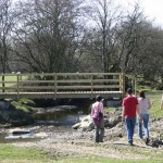 lon lodges bridge, Lon Lodges Farm Walks & Nature Trails, Powys, Mid Wales