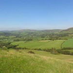 upland walk - Lon Lodges Farm Walks & Nature Trails, Powys, Mid Wales
